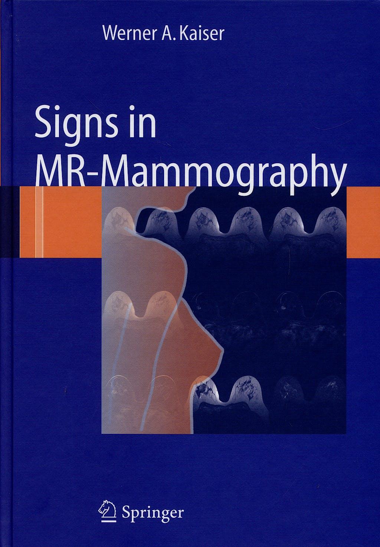 Portada del libro 9783540732921 Signs in Mr-Mammography