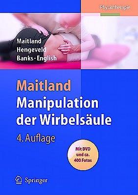 Portada del libro 9783540769057 Manipulation Der Wirbelsaule Mit Dvd