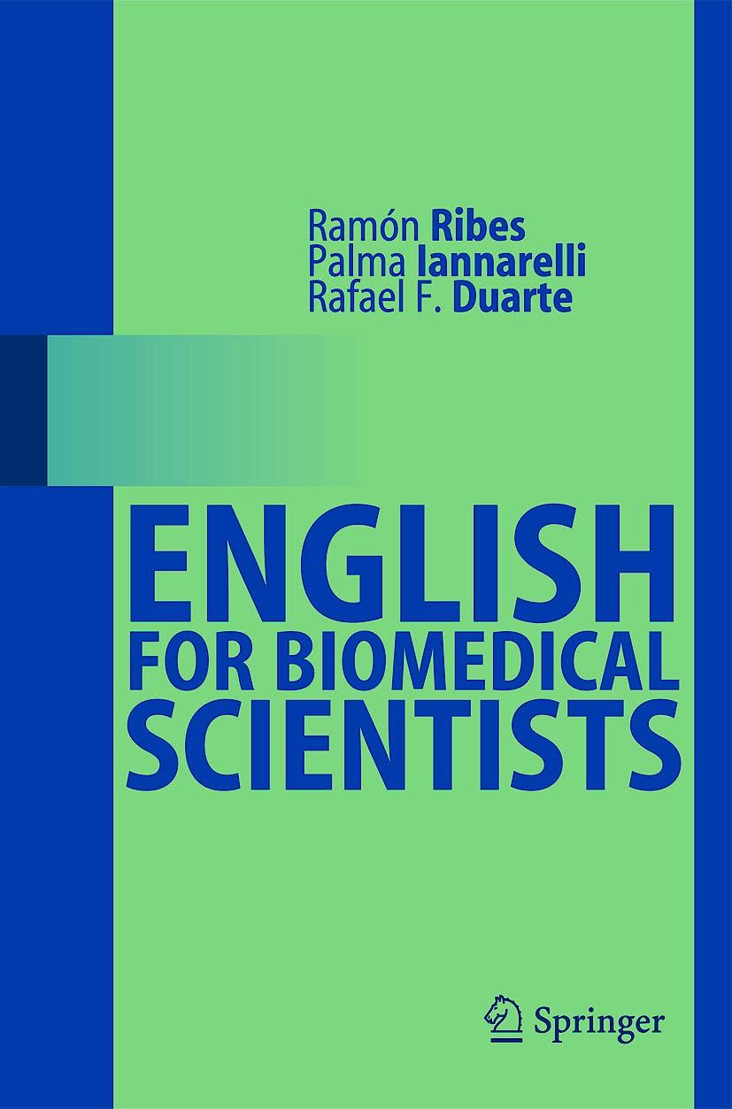 Portada del libro 9783540771265 English for Biomedical Scientists