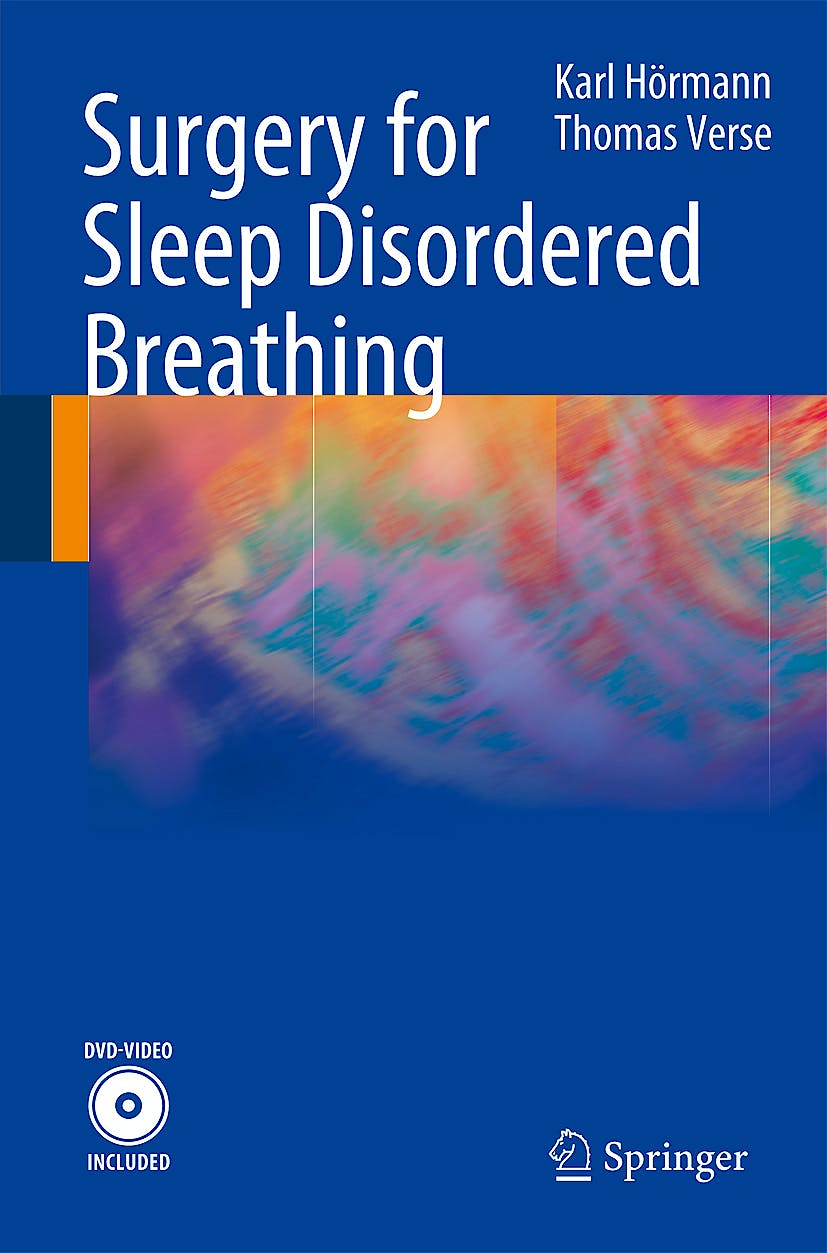 Portada del libro 9783540777854 Surgery for Sleep Disordered Breathing + Dvd