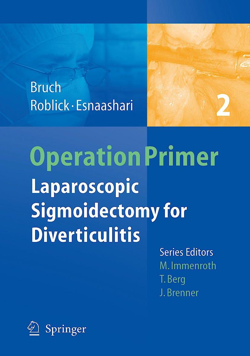 Portada del libro 9783540784517 Operation Primer 2: Laparoscopic Sigmoidectomy for Diverticulitis