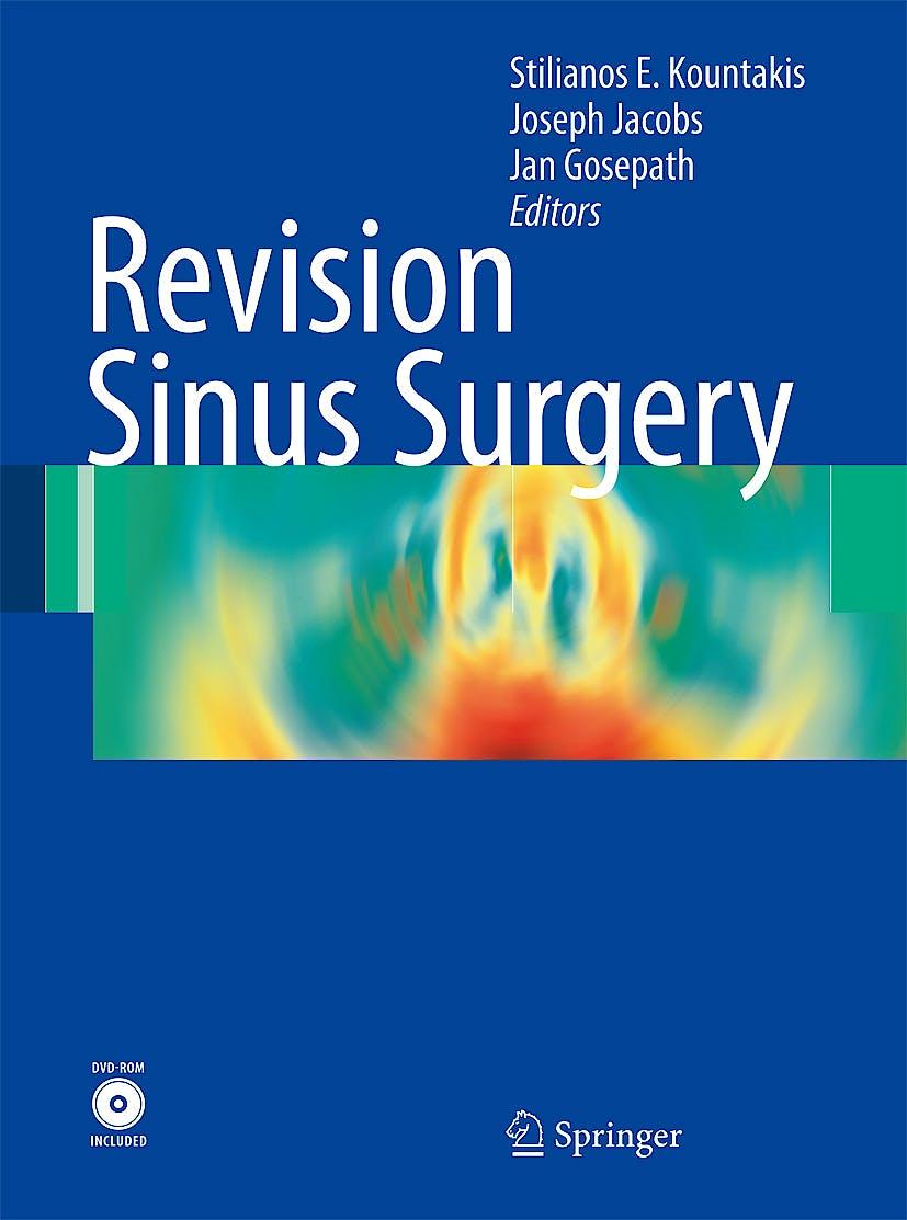 Portada del libro 9783540789307 Revision Sinus Surgery + Dvd
