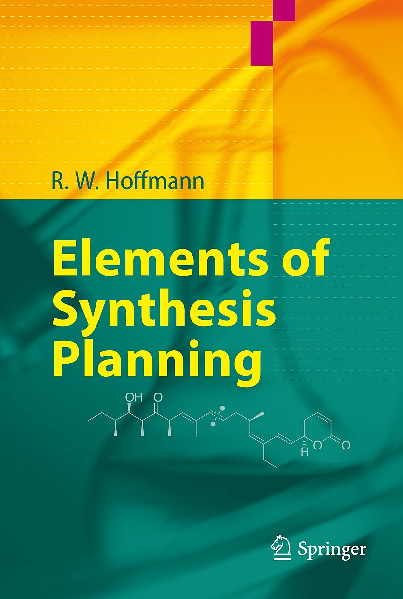 Portada del libro 9783540792192 Elements of Synthesis Planning
