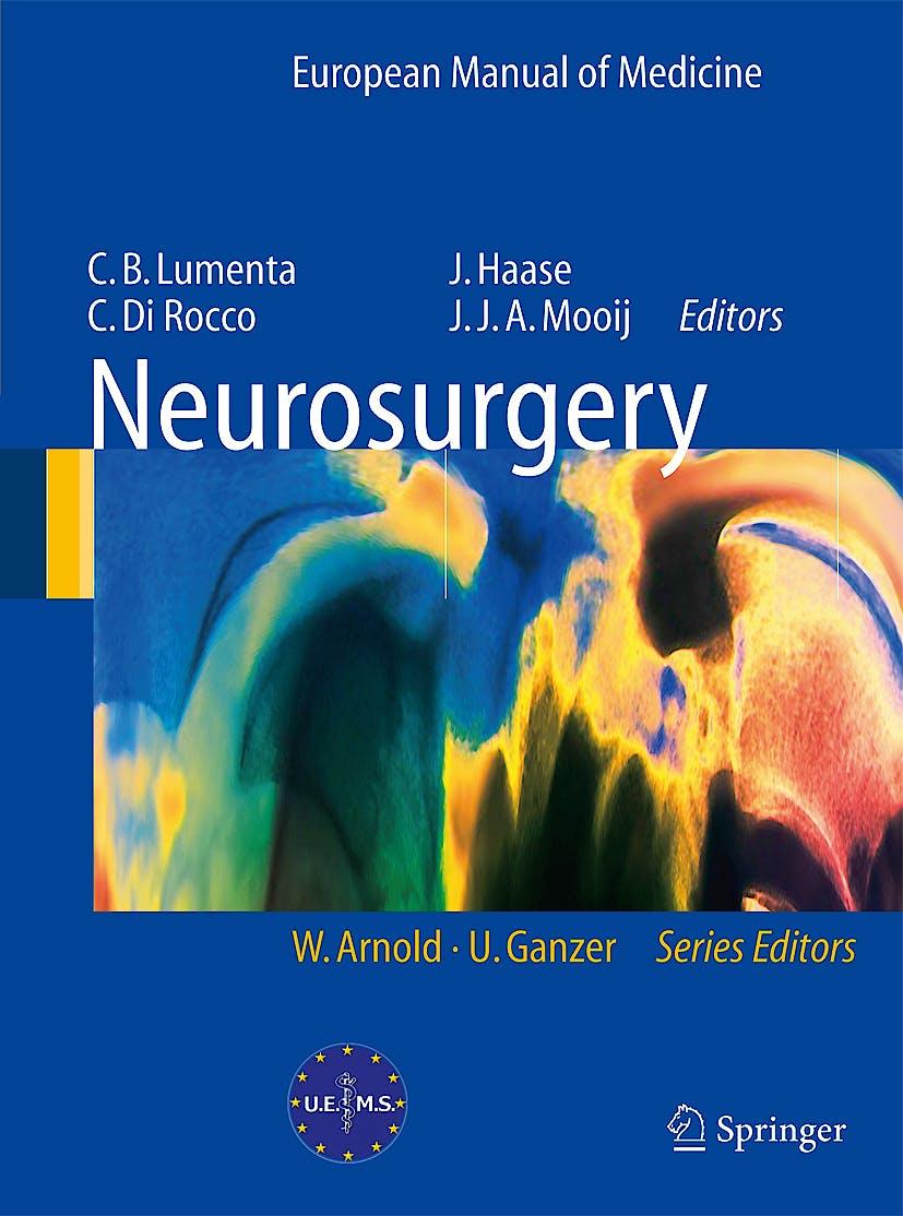 Portada del libro 9783540795643 Neurosurgery. European Manual of Medicine