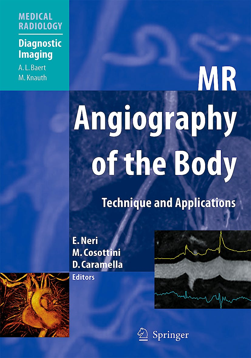 Portada del libro 9783540797166 Mr Angiography of the Body