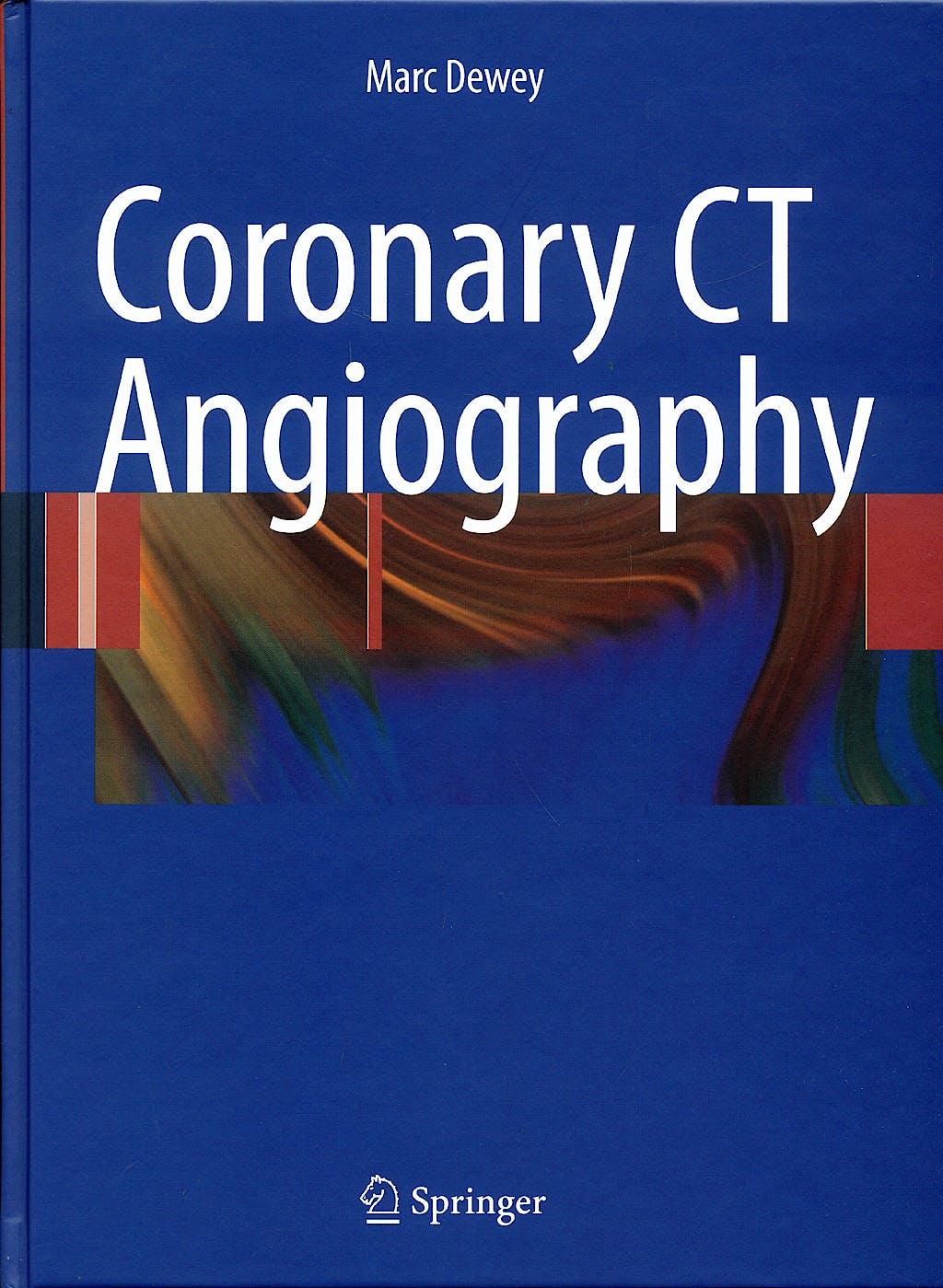 Portada del libro 9783540798439 Coronary Ct Angiography