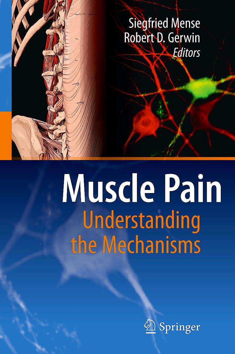 Portada del libro 9783540850205 Muscle Pain. Understanding the Mechanisms