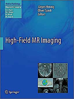 Portada del libro 9783540850878 High-Field Mr Imaging (Medical Radiology: Diagnostic Imaging)