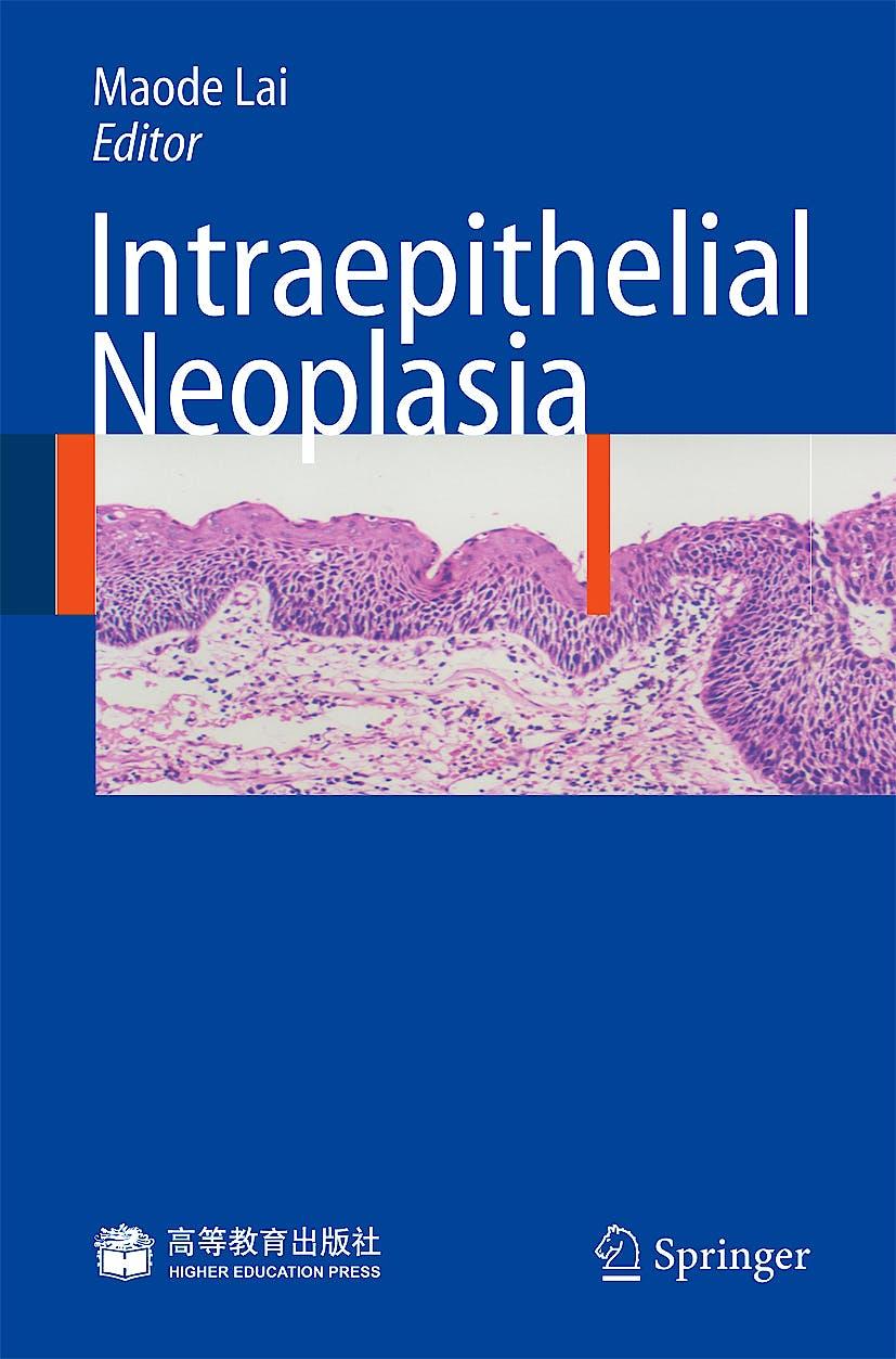 Portada del libro 9783540854524 Intraepithelial Neoplasia