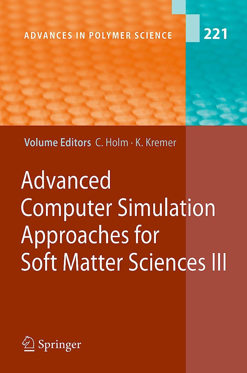 Portada del libro 9783540877059 Advanced Computer Simulation Approaches for Soft Matter Sciences III