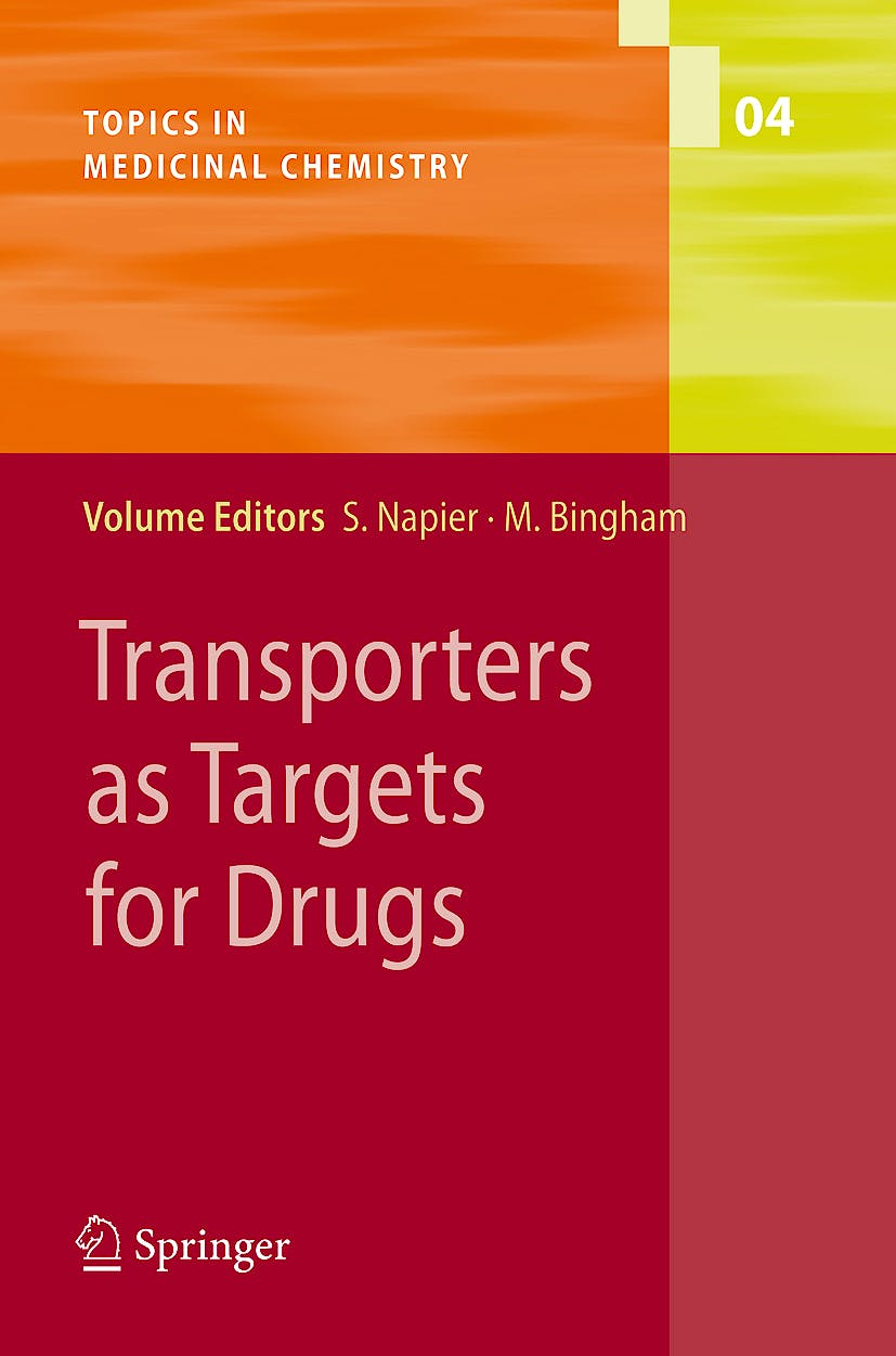 Portada del libro 9783540879114 Transporters as Targets for Drugs