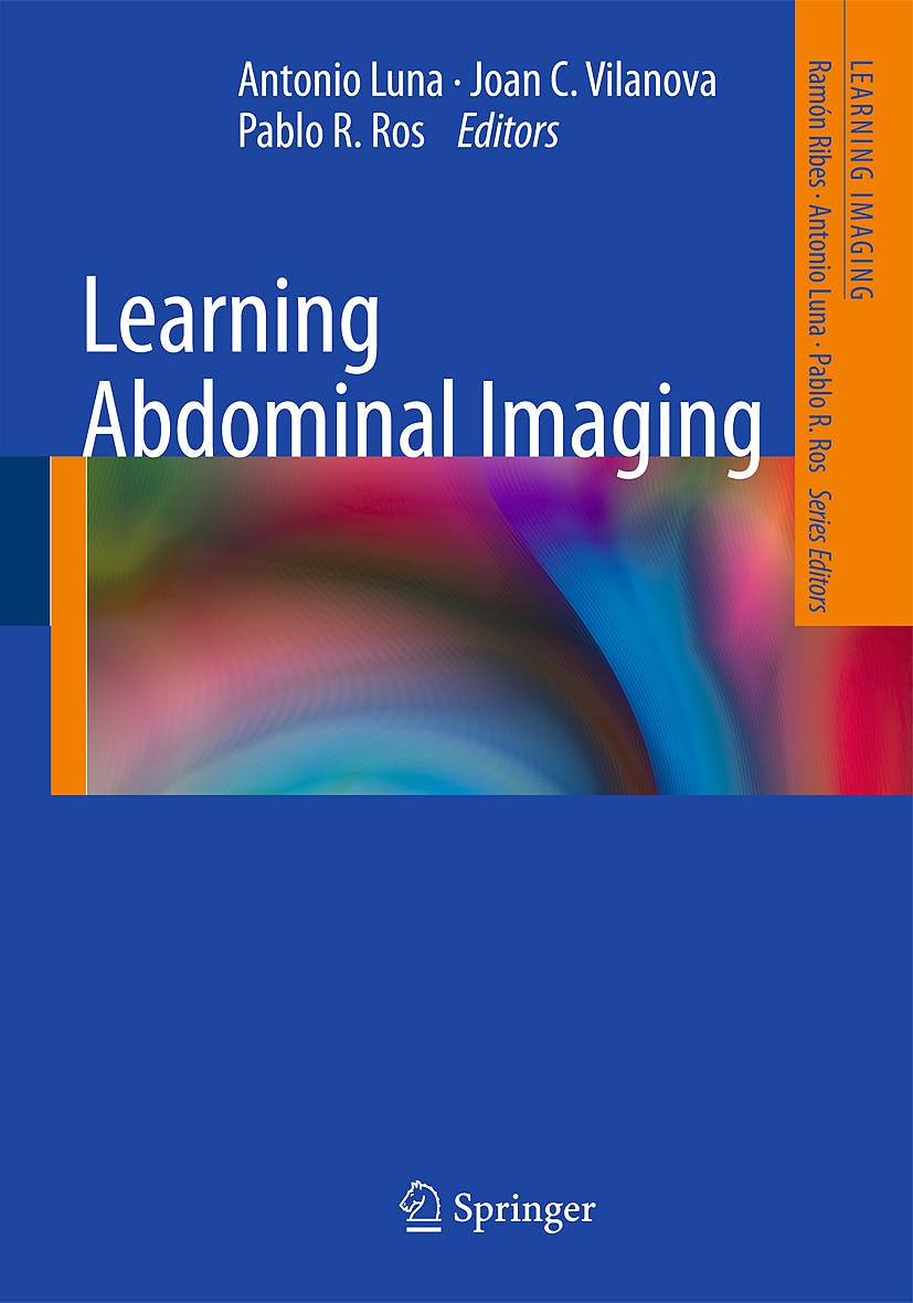 Portada del libro 9783540880028 Learning Abdominal Imaging (Learning Imaging)