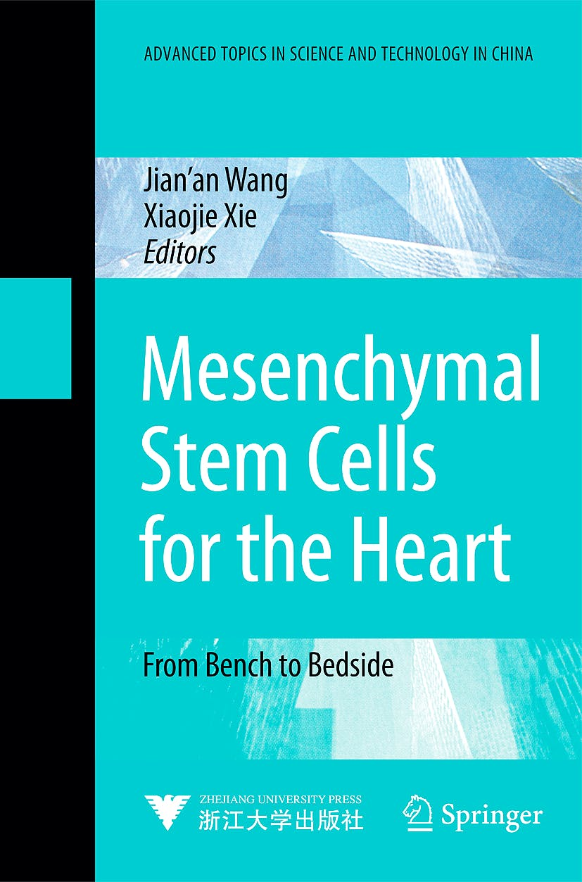 Portada del libro 9783540881490 Mesenchymal Stem Cells for the Heart
