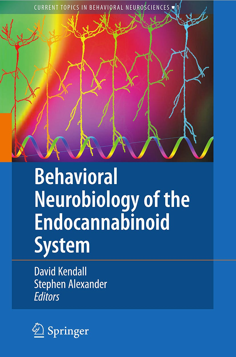 Portada del libro 9783540889540 Behavioral Neurobiology of the Endocannabinoid System