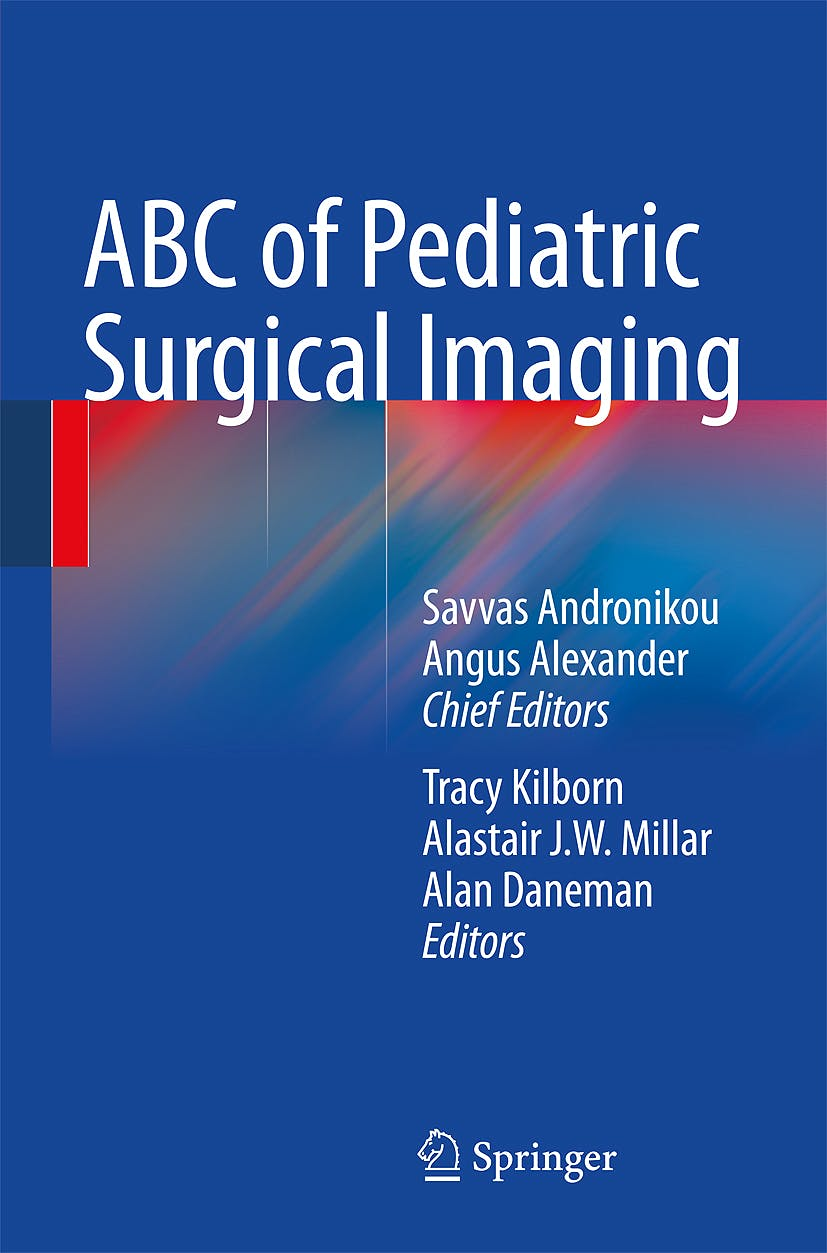 Portada del libro 9783540893844 Abc of Pediatric Surgical Imaging