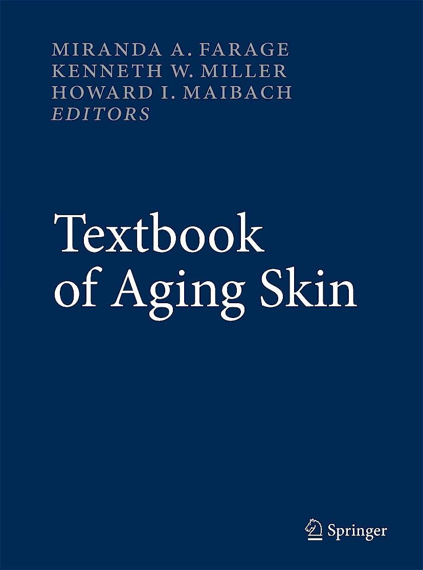 Portada del libro 9783540896555 Textbook of Aging Skin