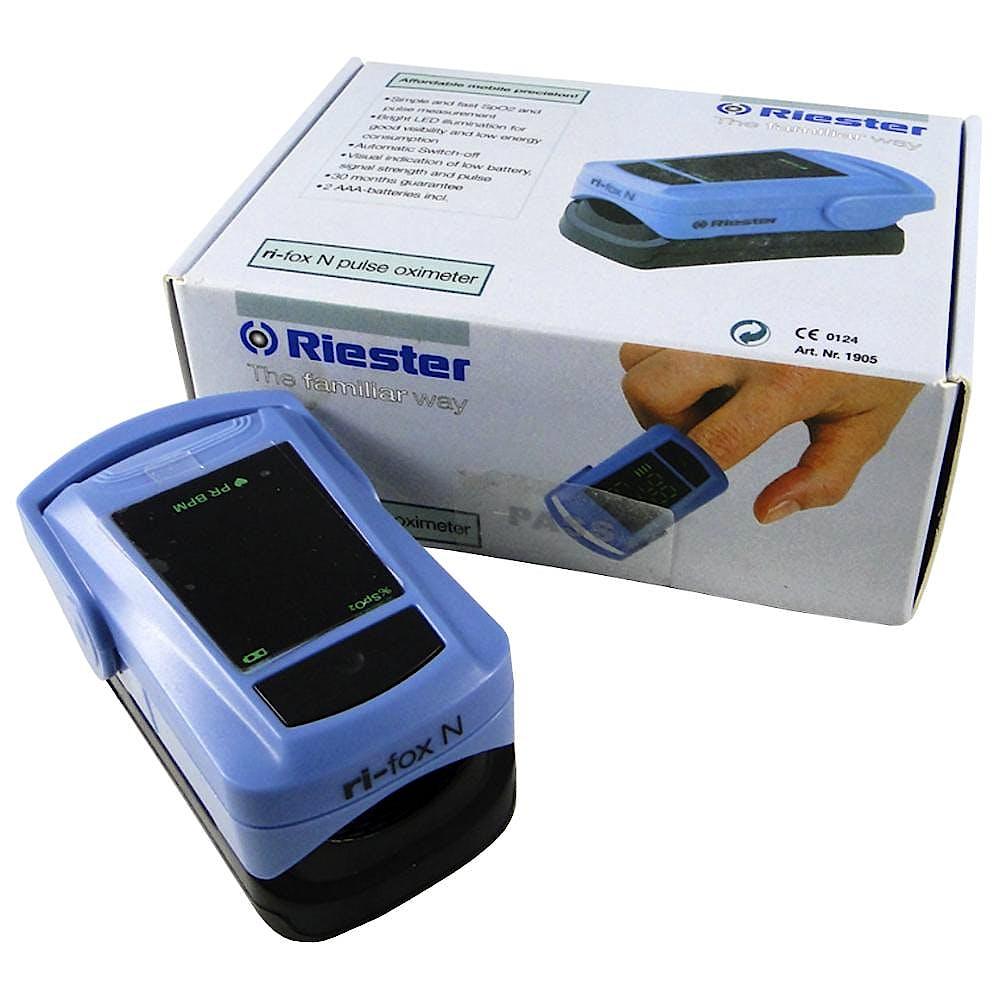 Pulsioximetro de Dedo Riester Ri-Fox N Adulto y Niño