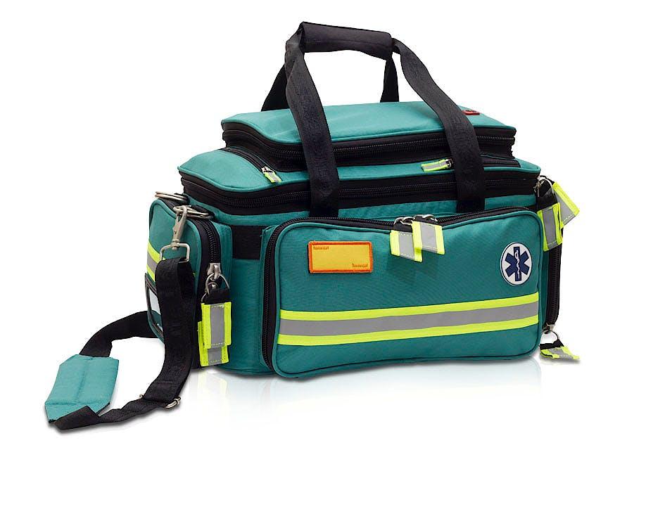 Bolsa de Emergencias para Soporte Vital Básico Modelo Extreme's EB02.009, Color Verde