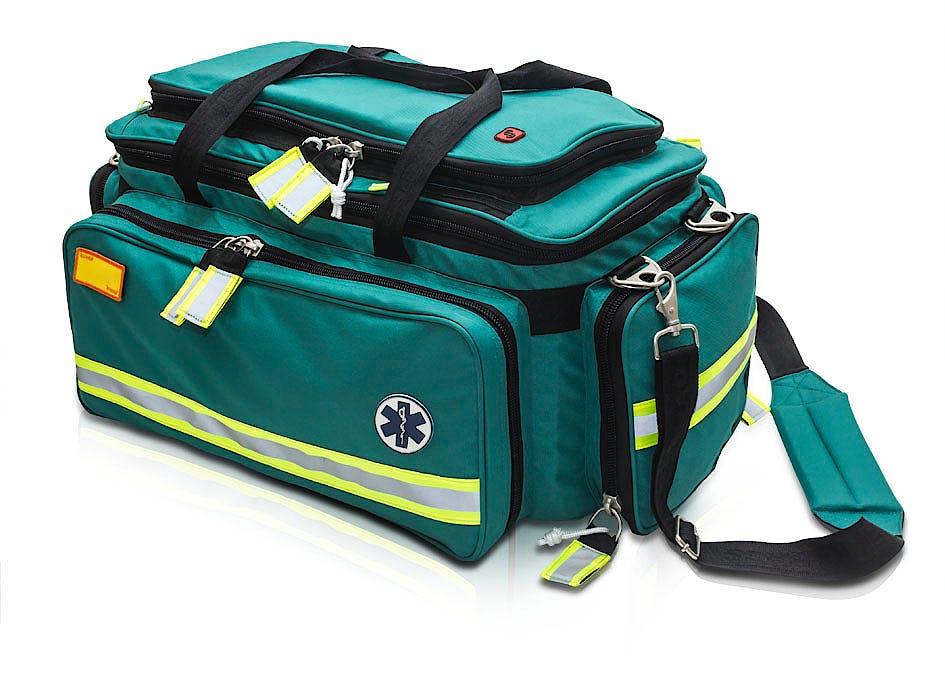 Bolsa Soporte Vital Avanzado Modelo CRITICAL'S EB02.011, Color Verde