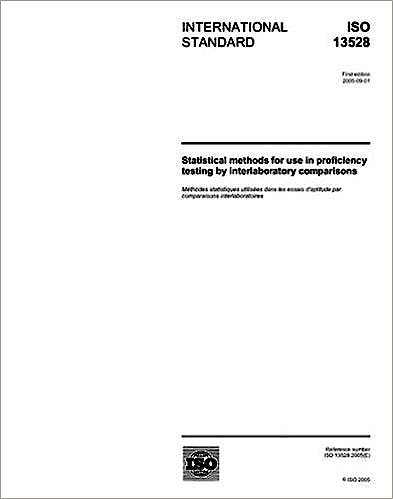 Portada del libro 9783551520364 Iso 13528:2015 Statistical Methods For Use In Proficiency Testing By Inter Laboratory Comparison
