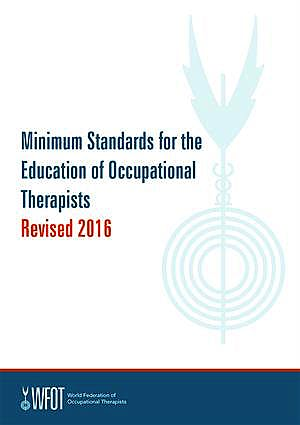Portada del libro 9783551583437 Minimum Standards for the Education of Occupational Therapists 2016
