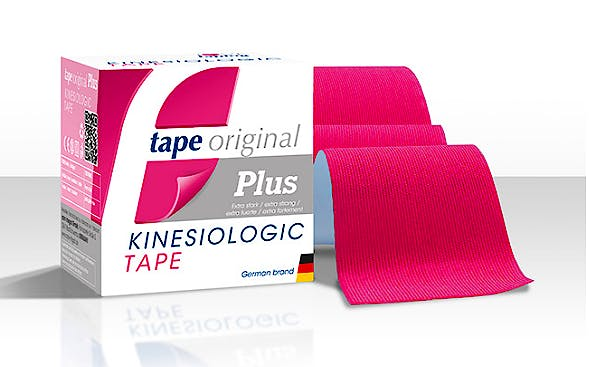 Tape Original Kinesiologic Tape PLUS Rosa (5cm X 5m)