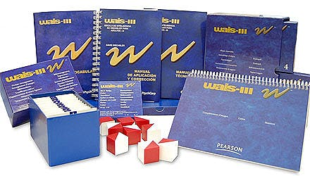 Portada del libro 9783596110704 WAIS III. Bloc de Figuras Incompletas, Cubos y Matrices