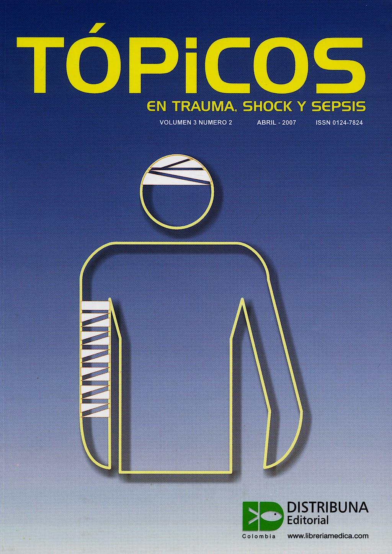 Portada del libro 9783629020253 Topicos en Trauma, Shock y Sepsis