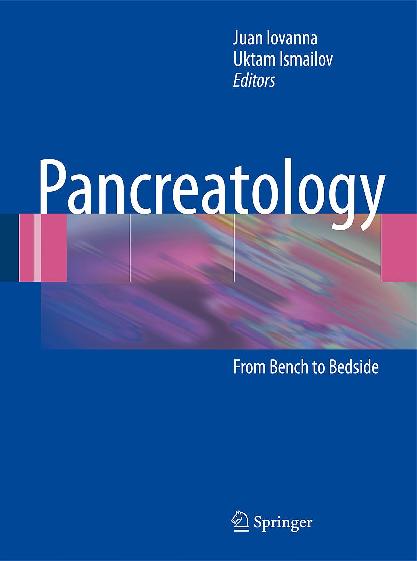 Portada del libro 9783642001512 Pancreatology. From Bench to Bedside