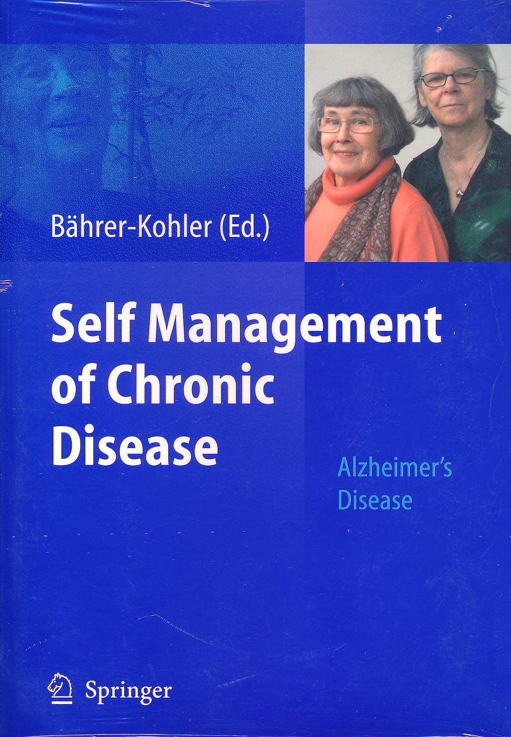 Portada del libro 9783642003257 Self Management of Chronic Disease. Alzheimer's Disease