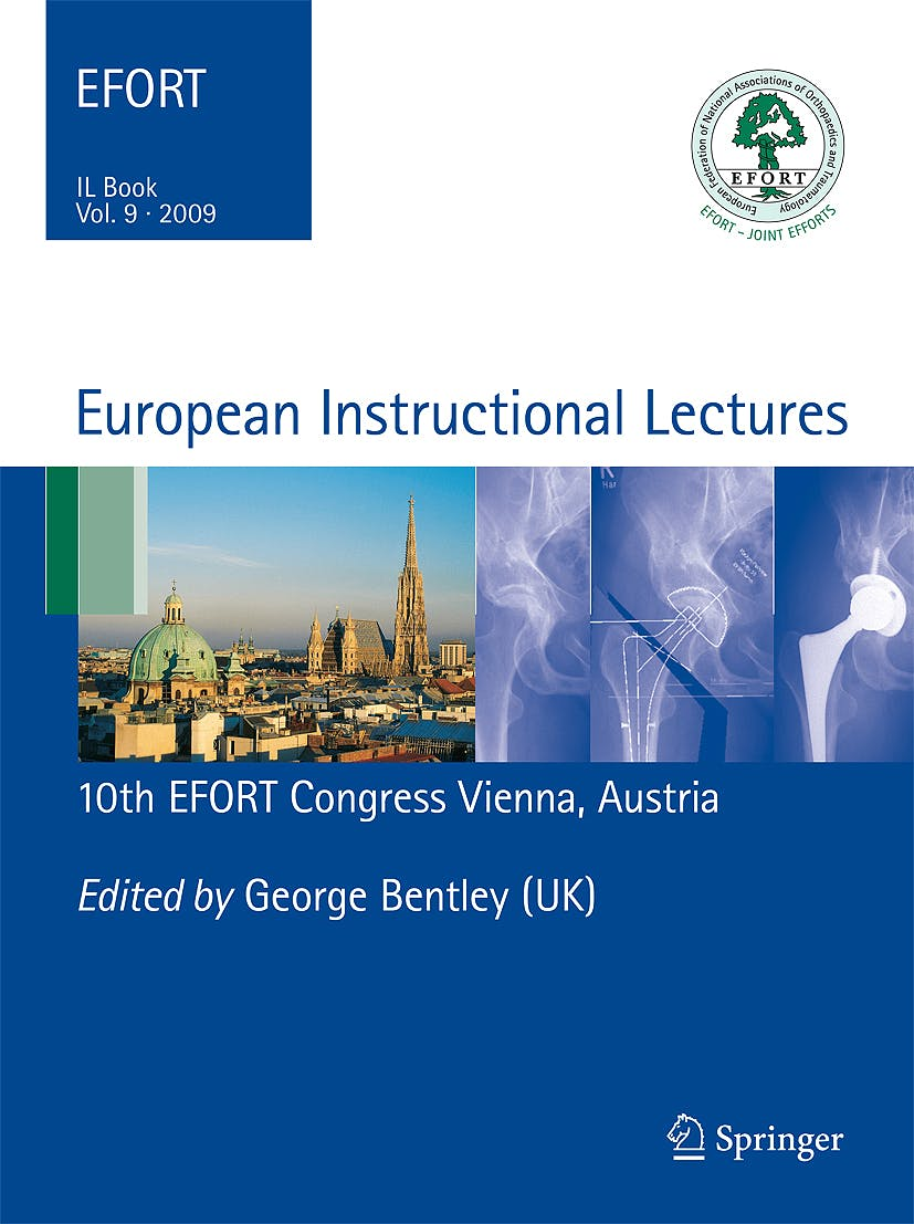 Portada del libro 9783642009655 European Instructional Lectures, Vol. 9. 10th Efort Congress, Vienna, Austria