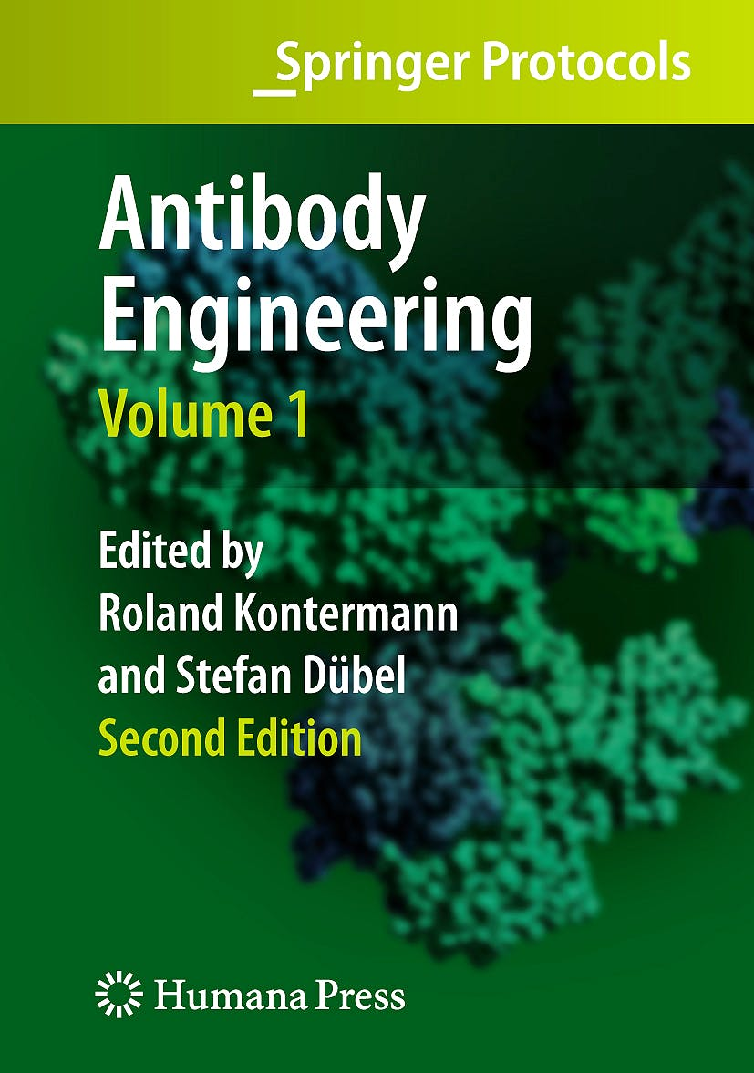 Portada del libro 9783642011436 Antibody Engineering Vol. 1