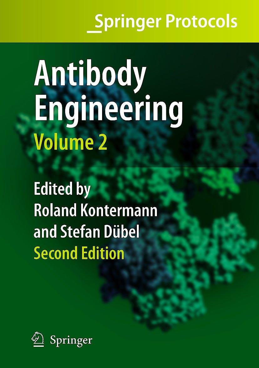 Portada del libro 9783642011467 Antibody Engineering Vol. 2