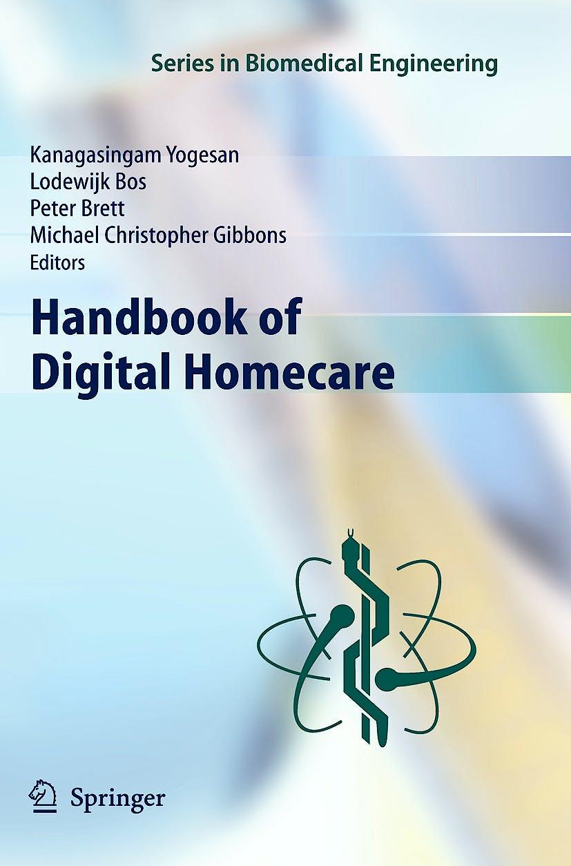 Portada del libro 9783642013867 Handbook of Digital Homecare