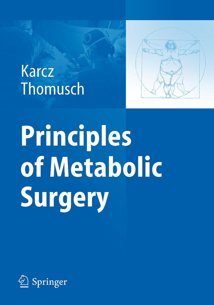 Portada del libro 9783642024108 Principles of Metabolic Surgery