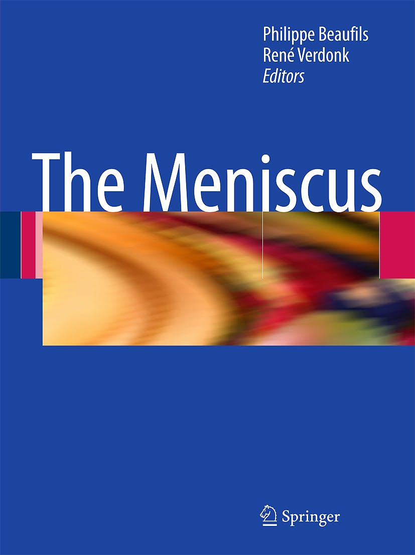 Portada del libro 9783642024498 The Meniscus