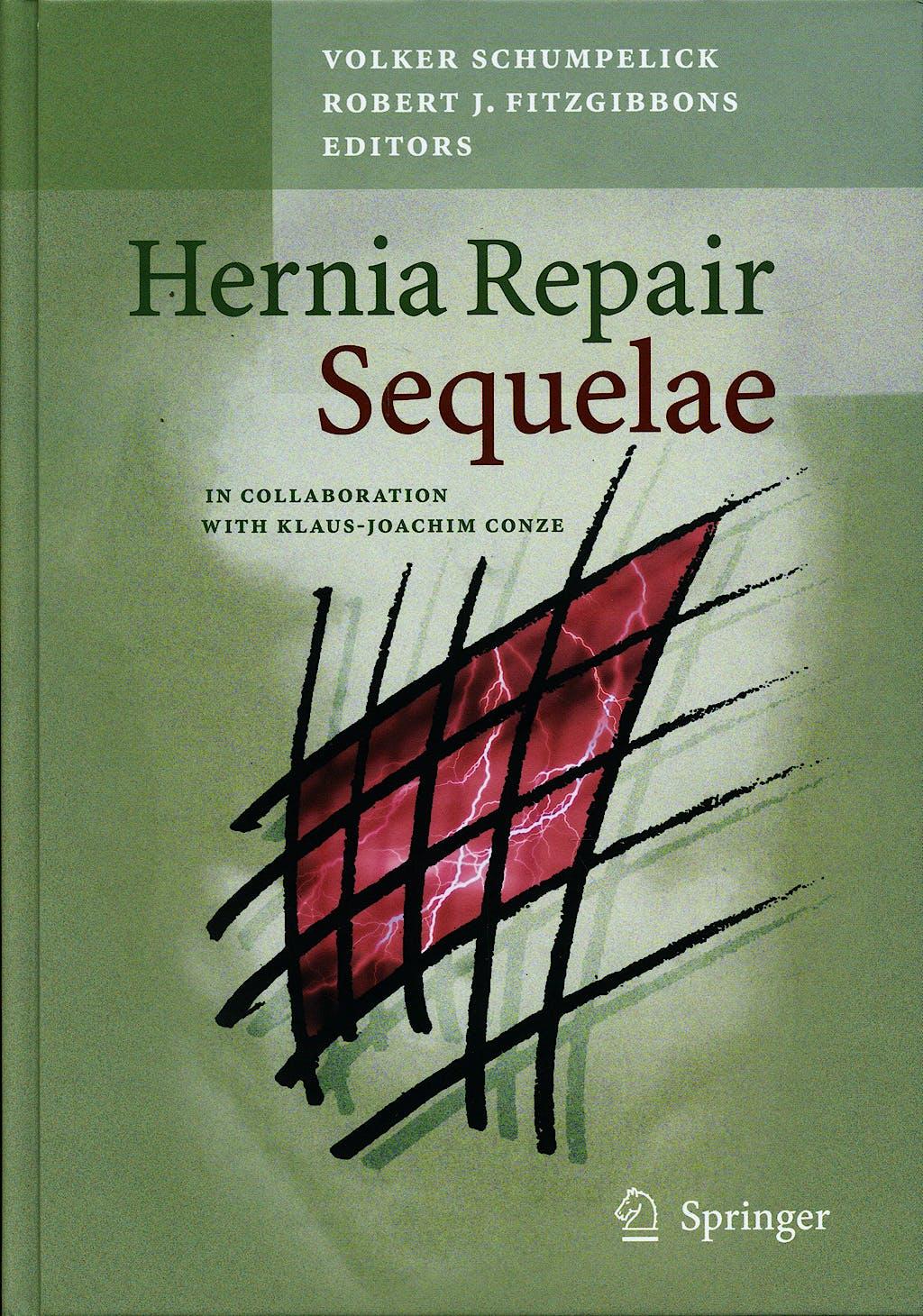 Portada del libro 9783642045523 Hernia Repair Sequelae