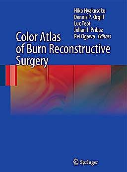 Portada del libro 9783642050695 Color Atlas of Burn Reconstructive Surgery