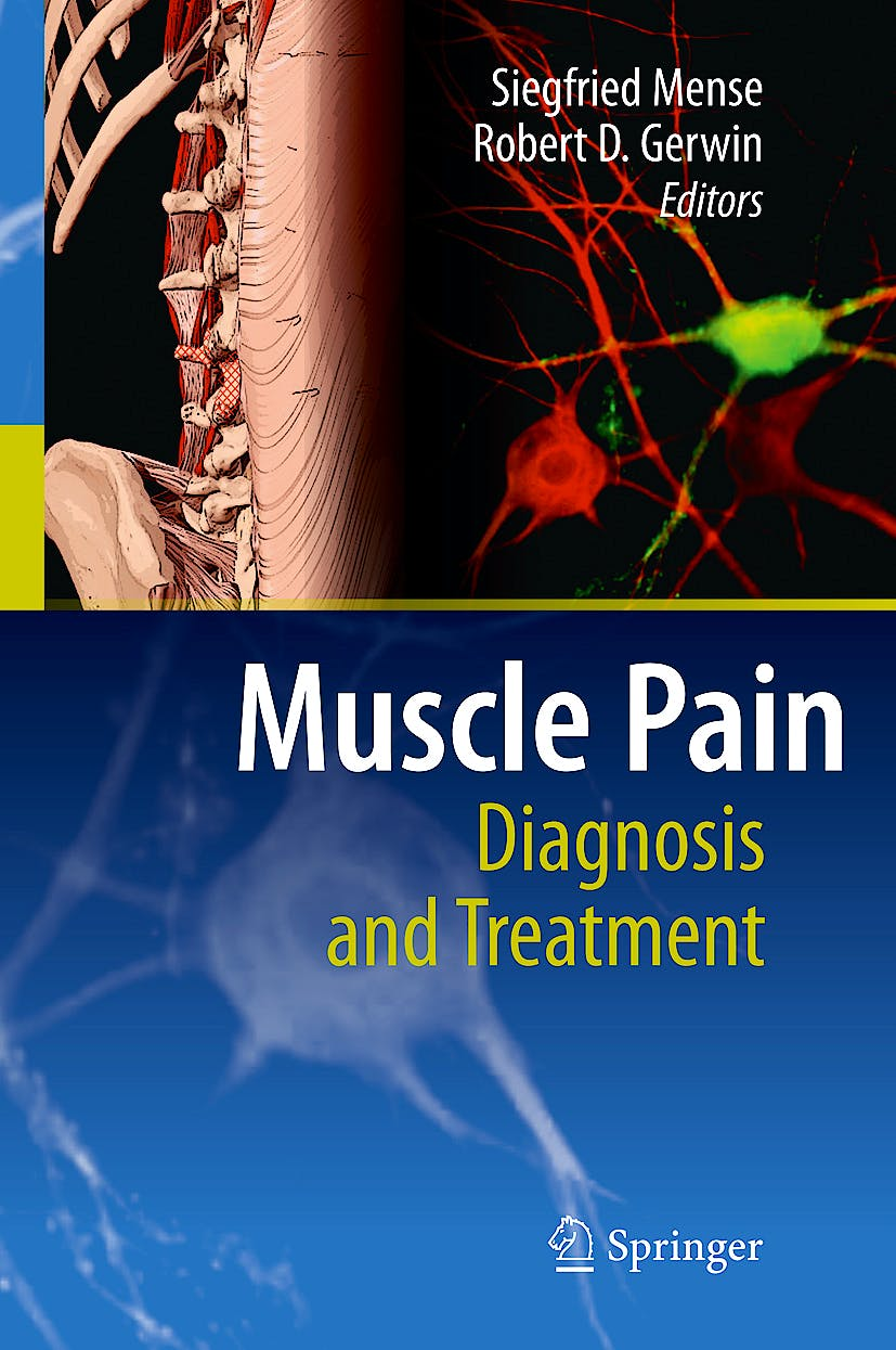 Portada del libro 9783642054679 Muscle Pain. Diagnosis and Treatment