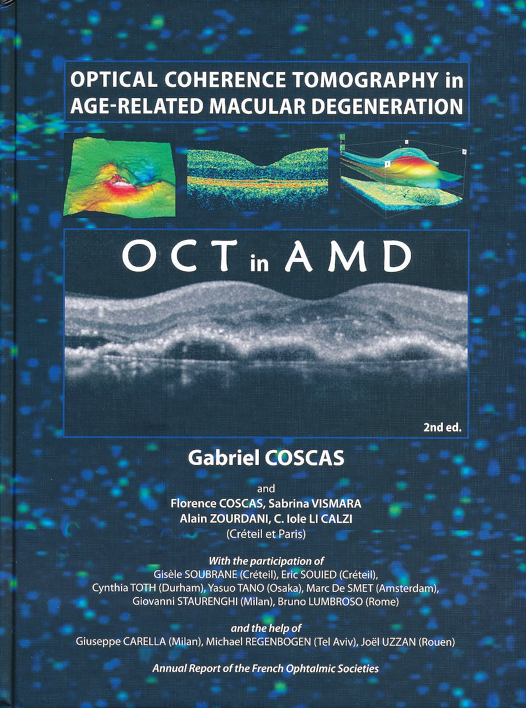 Portada del libro 9783642101816 Optical Coherence Tomography in Age-Related Macular Degeneration. Oct in Amd
