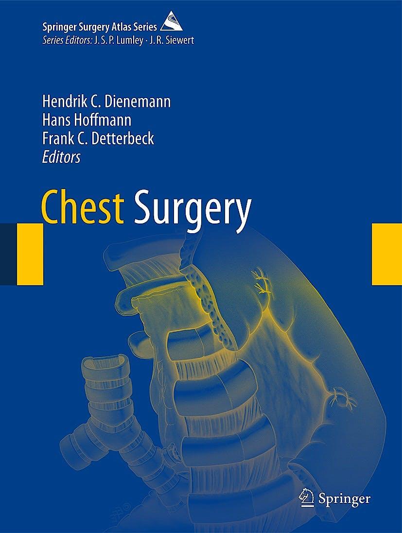 Portada del libro 9783642120435 Chest Surgery (Springer Surgery Atlas) (Hardcover)