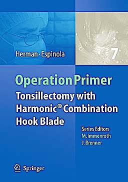 Portada del libro 9783642127472 Operation Primer 7: Tonsillectomy with Harmonic Technology + Dvd