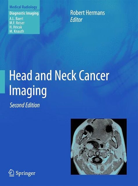 Portada del libro 9783642178689 Head and Neck Cancer Imaging