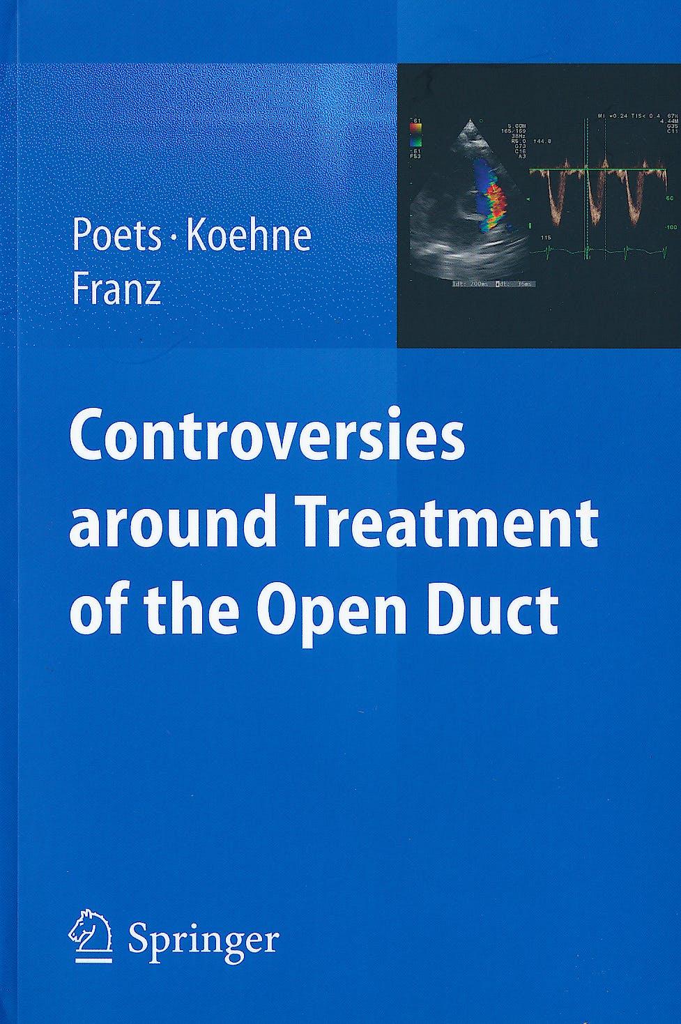 Portada del libro 9783642206221 Controversies around Treatment of the Open Duct