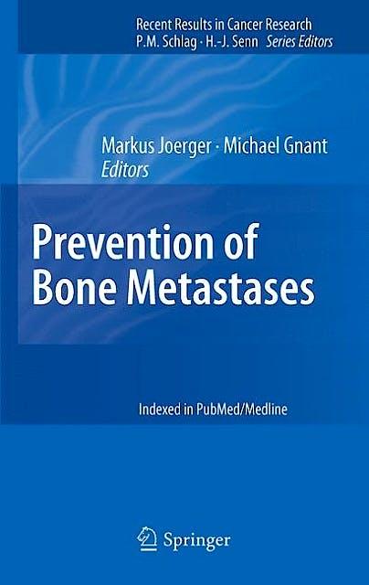 Portada del libro 9783642218910 Prevention of Bone Metastases