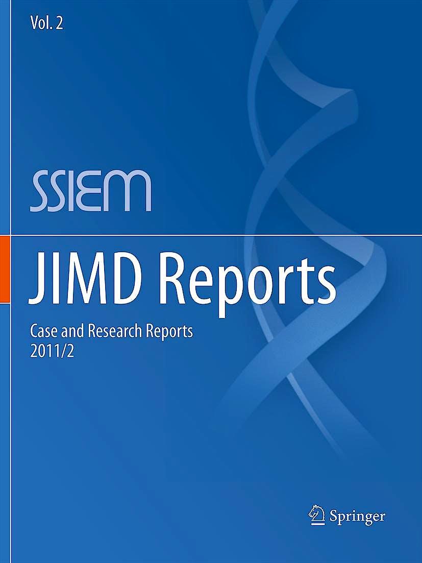 Portada del libro 9783642247576 Jimd Reports, Vol. 2: Case and Research Reports, 2011/2