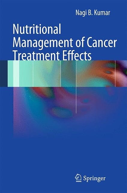 Portada del libro 9783642272325 Nutritional Management of Cancer Treatment Effects