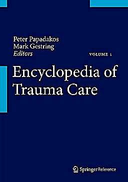 Portada del libro 9783642296116 Encyclopedia of Trauma Care, 2 Vols.