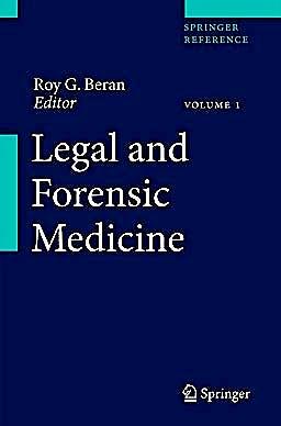 Portada del libro 9783642323393 Legal and Forensic Medicine, 3 Vols. + Online Access