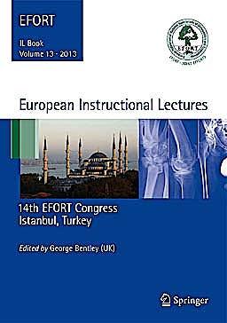 Portada del libro 9783642361487 European Instructional Lectures, Vol. 13. 2013, 14th Efort Congress, Istanbul, Turkey